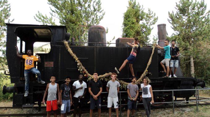 Uscita Al Museo Storico Minerario Di Perticara