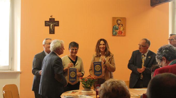 Consegna Del Pulmino Donato Dal Rotary